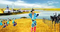 多彩的阿拉善-[蒙古舞]-笑天